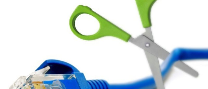 RJ45 cable scissors