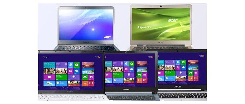 Windows 8 notebooks