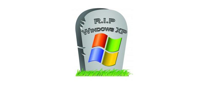 Windows XP Tombstone