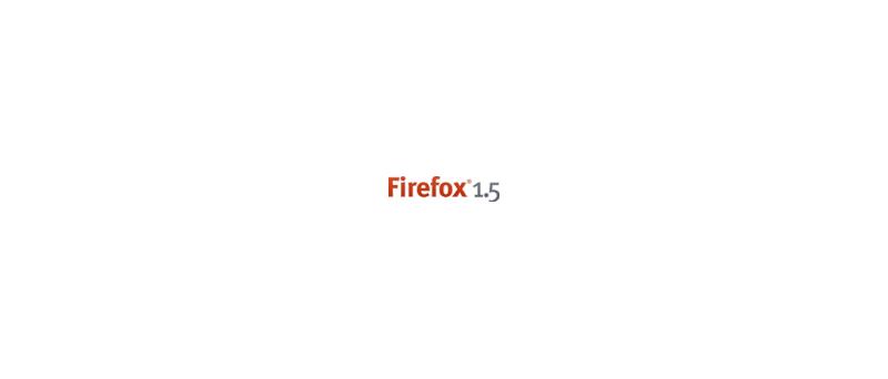 Mozilla Firefox 1.5