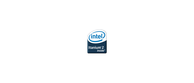 Intel Itanium 2 logo