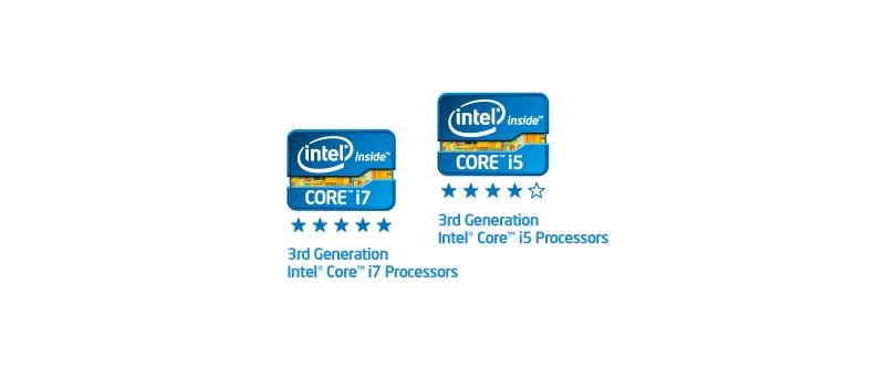 3rd Generation Intel Core i7-i5 processors