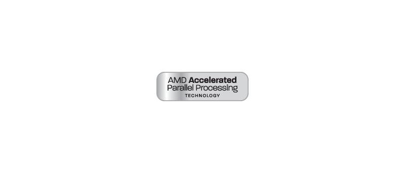 AMD Accelerated Parallel Processing (štítek) (AMD APP logo)