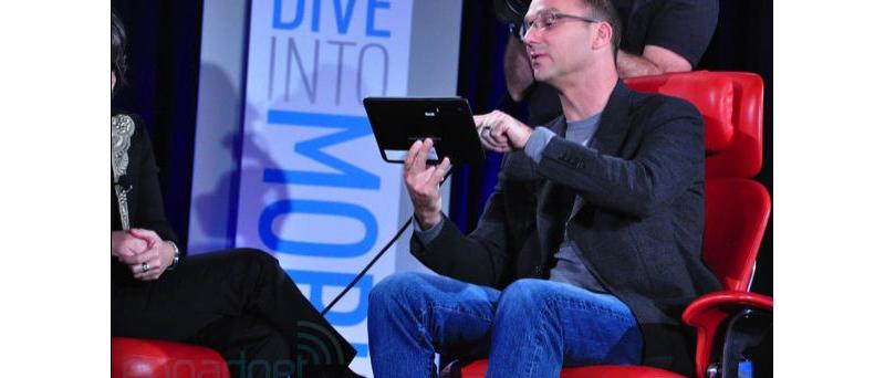 Andy Rubin z Googlu předvádí Android 3.0