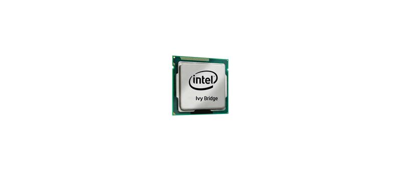 """Intel """"Ivy Bridge"""" procesor (ilustrační obrázek)"""