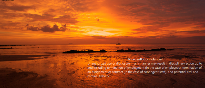 Screenshot Windows 8 build 7955