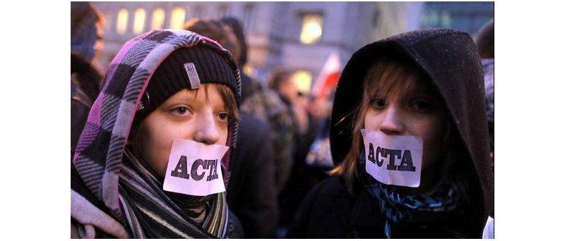 Protest proti ACTA
