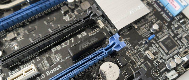 ASUS P8Z77 WS - detail