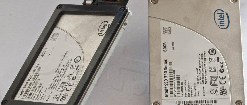Intel SSD 320 Series 40GB + 330 Series 60GB