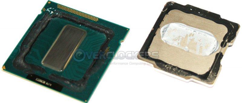 Ivy Bridge - až příliš úspěšný pokus sundat tepelný rozvaděč z křemíkového jádra procesoru