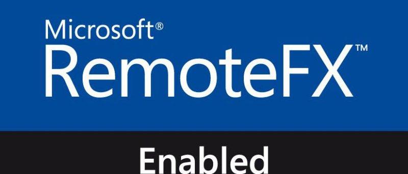 RemoteFX Enabled logo