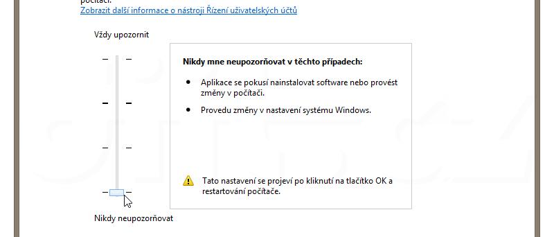 UAC - Windows 8