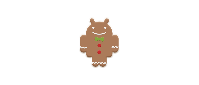 Google Android 2.3 gingerdroid logo