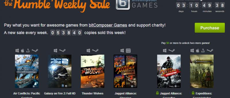 Humble Weekly Sale: bitComposer Games