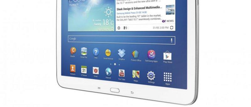 Samsung Galaxy Tab 3, 10 - předek