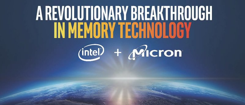 Intel Micron 3 Dxpoint