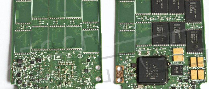 Intel SSD 320 Series 40GB - PCB