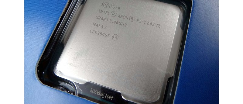 Intel Xeon E3-1245 V2