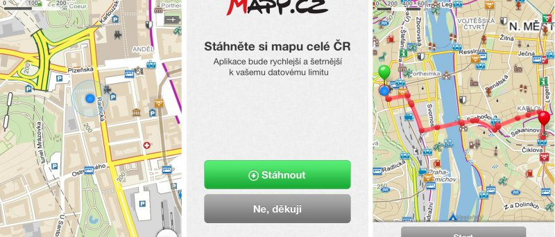 Mapy.cz v mobilu - Obrázek 4