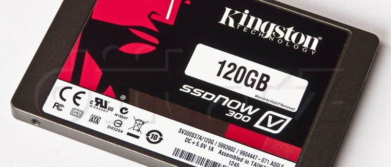 Kingston SSDNow V300 120GB (z úhlu)