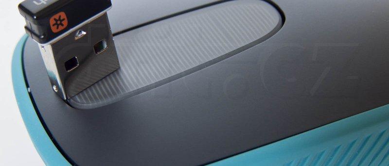 Logitech Zone Touch Mouse T400 + Unifying přijímač