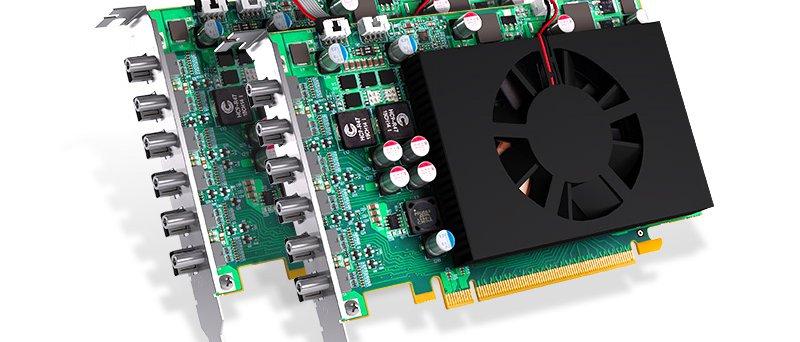 Matrox C 680 Graphics Card Board To Board Framelock