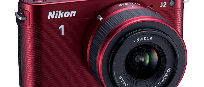 Nikon 1 J2 red