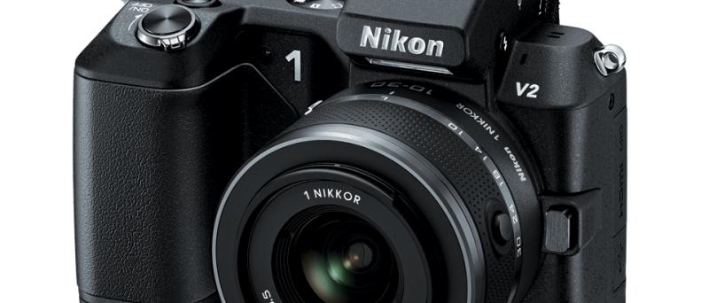 Nikon 1 V2 front black