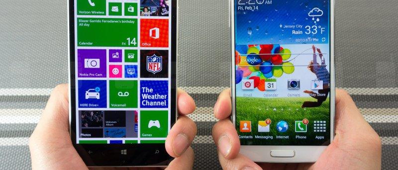Nokia Lumia Icon Vs Samsung Galaxy S 4 011