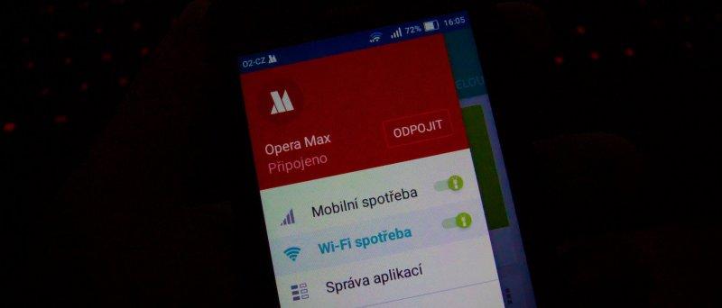 Opera Max Huawei Y 560