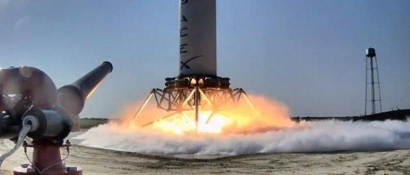 Kosmický raketový program SpaceX