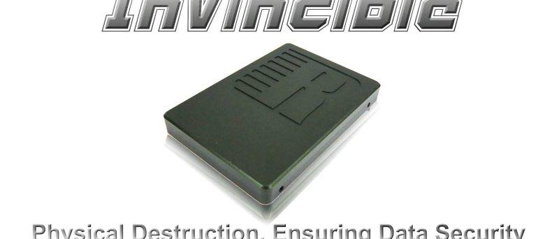 RunCore InVincible SSD - physical destruction, ensuring data security