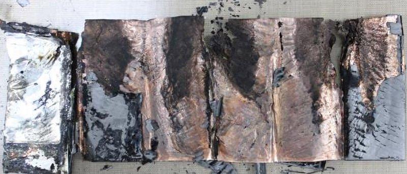 Samsung Galaxy Note 7 Battery Damaged