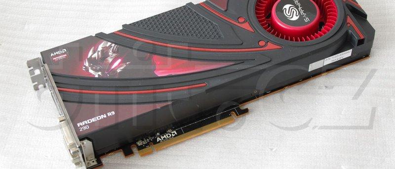 Sapphire Radeon R9 290__IGP3983_front