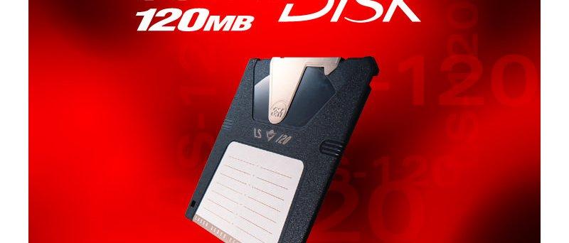 SuperDisk LS-120