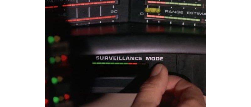 Knight Rider - Surveillance Mode