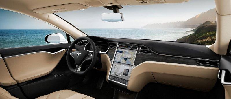 Tesla Model S Inside