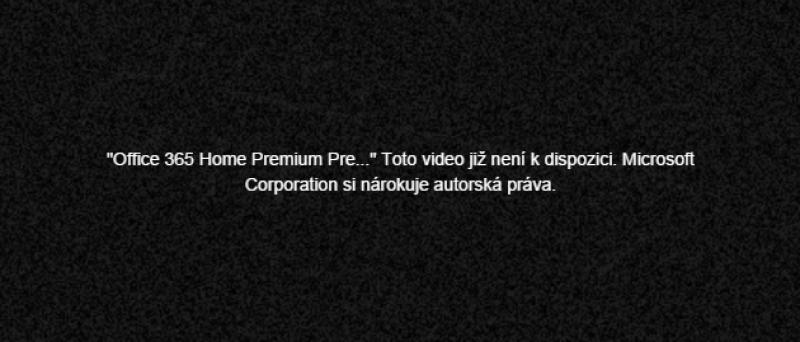 Toto Video Neni K Dispozici Microsoft Si Narokuje Autorska Prava