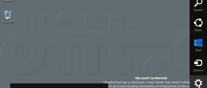 "Windows ""Blue"" - Modern UI - Charms copy"