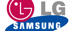 lg samsung logo velké