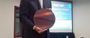 Intel Knights Landing Wafer
