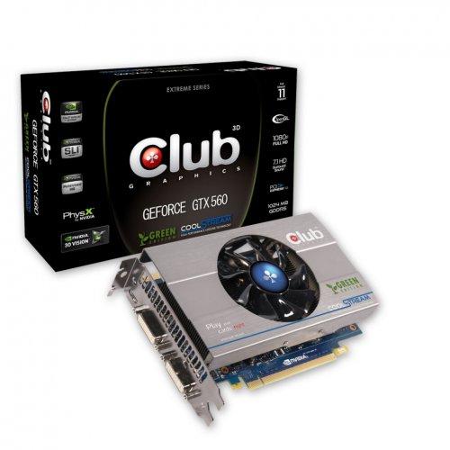 Club 3D GeForce GTX 560Ti Green Edition CGNX-XT56024G