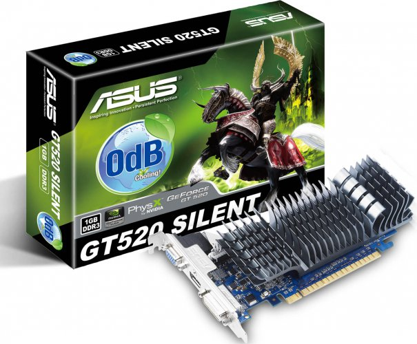 Nvidia GeForce GT 520 - ASUS