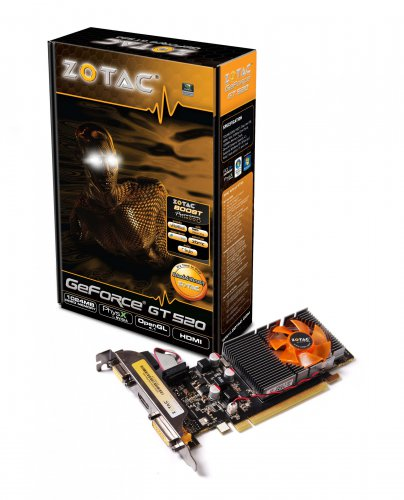 Nvidia GeForce GT 520 - Zotac