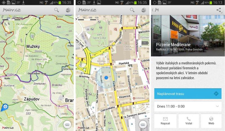 Mapy.cz v mobilu - Obrázek 3