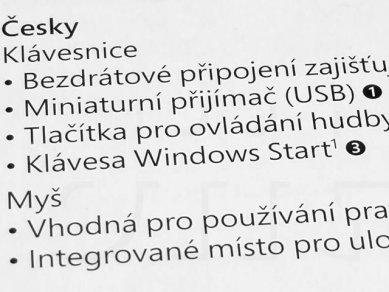 13 Ms Wireless Desktop 800 Informace Na Krabici