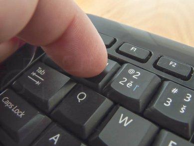15 Ms Wireless Keyboard 800 Stisknuti Bezne Klavesy