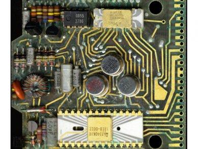 """HP-35, """"základní deska"""" :-)"""