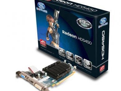 Sapphire Radeon HD 5450 512MB DDR3