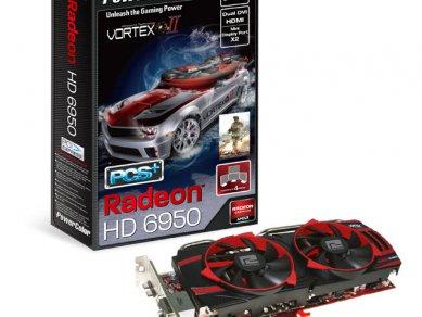 PowerColor Radeon HD 6950 PCS+ Vortex Edition